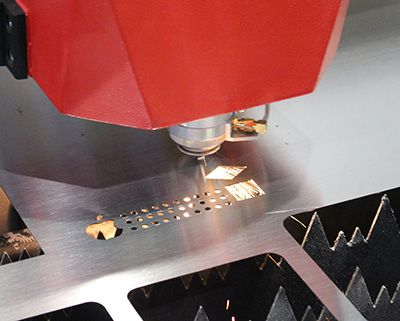 metal laser cutting machine sample